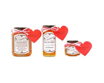 H.L. Franklin's Healthy Honey Valentine's Day Gift Jar