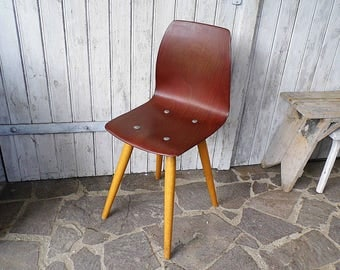 Vintage   School Chair From The 80s   Chair For The Loft   Pagwood   Upcycle