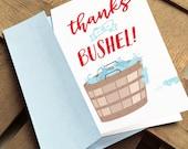Thanks a Bushel Card - Ma...