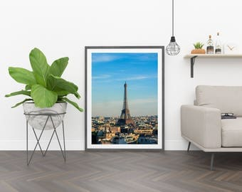 Eiffel Beauty ~ Fine Art Print (Unframed) ~ Travel Photography