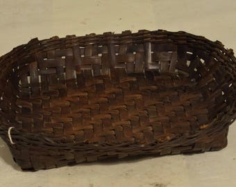Philippines Basket Ifugao Woven Plate Bowl Rattan Ifugao Handmade Woven Rattan Eating Meals Food Plate Woven Basket