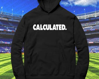 Calculated Hoodie Custom Gamer Tag & Color Option