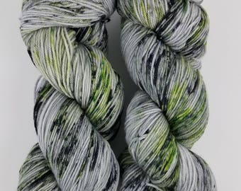The Code - 4 ounce Skein - Merino/Nylon/Tencel - Elven