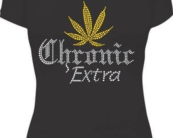 Chronic Extra Rhinestone Tee