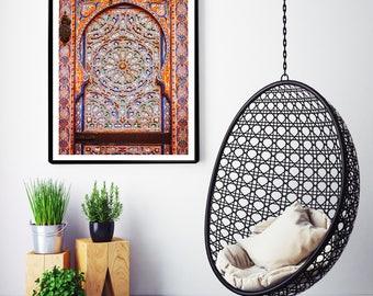 Photographie Fine Art - Porte Marocaine - Moulay Idriss - Maroc