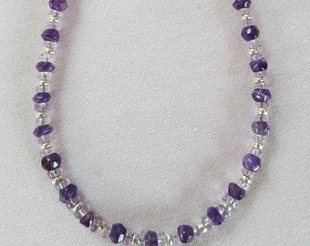 Delicate Amethyst necklace