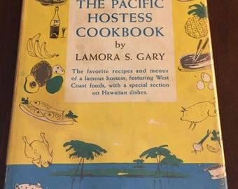 The Pacific Hostess Cookbook, 1956 vintage cookbook