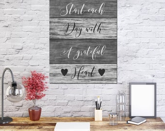 Inspirational Quote Canvas, Positive Wall Decor, Inspirational Wall Sign, Positive Affirmation Sign, Housewarming Sign Gift, Rustic Canvas