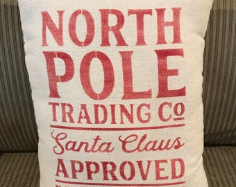 North Pole Trading Co. Pillow