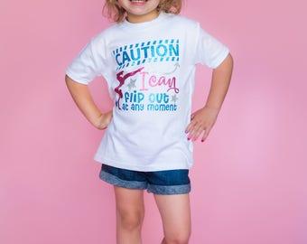 Girls Gymnastics Tee - Kids Gymnastics Shirt - Cute Gymnast T-Shirt - Gymnastics Gift- Gymnastics Birthday - Tumbling Shirt