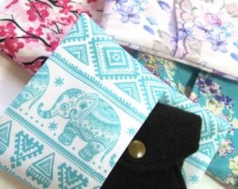 Pad Wrapper, cloth pad wrapper, pad wet bag, small wet bag