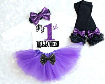 1st Halloween Outfit Girl Halloween Outfit Baby Girl Halloween Costume 1st Halloween Costume Baby Girl Halloween Outfit Headband Legwarmers