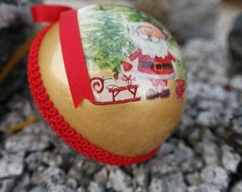 Custom Christmas Ornament, Personalized First Baby Christmas Ornament, Christmas Tree Decor, Christmas Bauble Gift