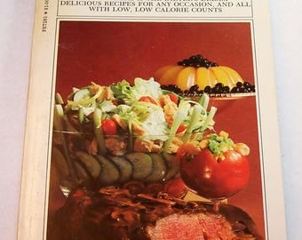 Vintage Cookbook Better Homes and Gardens Calorie Counter's Cook Book 1970's Vintage Diet Cookbook