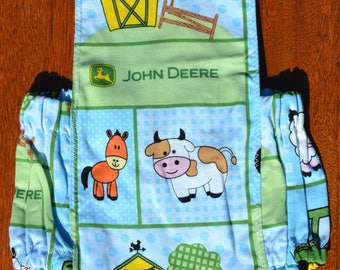 Baby boy bubble romper, bubble romper, barnyard boy romper, baby boy outfit, baby shower gift, barnyard animals romper boy
