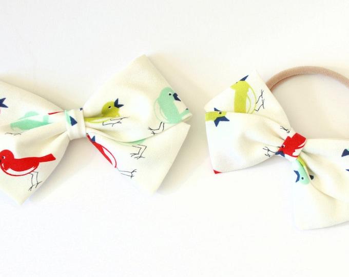 Bird Hair Bow