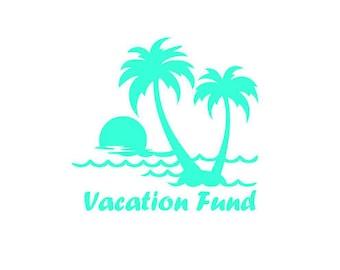 Vacation Fund Etsy