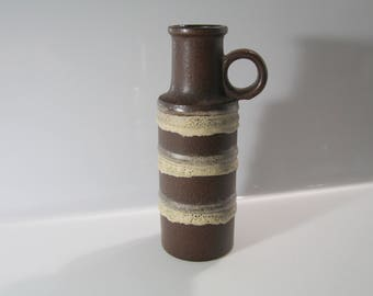 Lovely vase by Scheurich 401-28  West German Pottery - Fat Lava WGP