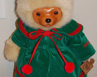 """Collectable Raikes """"Kathie Christmas"""" Bear - Number 1808/7500"""