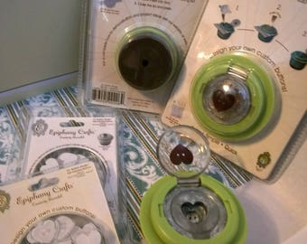 Heart 30 punch and 2 packs of Heart Buttons Epiphany Crafts Shape Studio Papercrafts paper craft crafting card making scrapbook
