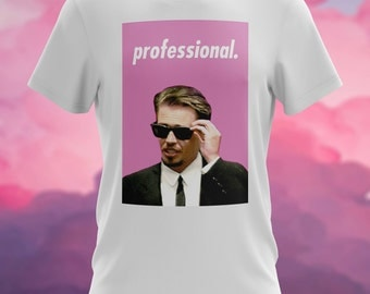 Reservoir Dogs movie Mr. Pink professional aesthetic pink T-Shirt