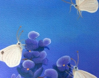 british butterflies painting