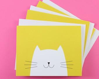 Cat Notecards (Set of 3)