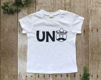 UNO. First Birthday Shirt.