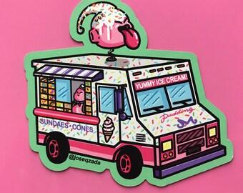 Majin Buu Ice cream truck Magnet | Dragon Ball Z