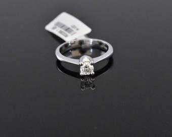 18K White Gold Diamond Solitaire | GIA Certified Diamond | Engagement Ring | Wedding Ring | Handmade Fine Jewelry | Bridal Ring
