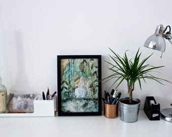 Jungle Princess A4 Fine Art Print