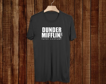 The Office Tv Show - Dunder Mifflin - Unisex - T-Shirt - Paper Company - Schrute Farms- Dwight - Michael Scott - Gifts - Graphic