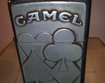 Zippo USA Camel Card Suit Lighter