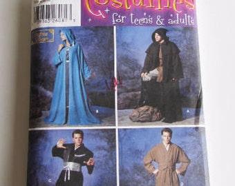 Jedi Robe, Grim Reaper, Adult & Teen Sizes, Simplicity 5840 - Uncut