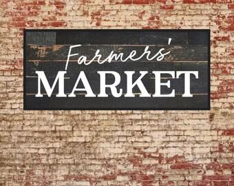 Farmers Market Sign, Magnolia Farms Vector, Fixer Upper, Market Fresh, Printable, Cuttable, SVG, Vinyl, Stencil, Print, Cut File, DXF