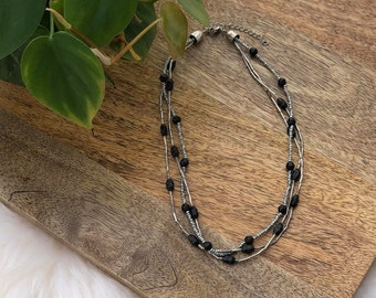 beaded necklace | womens