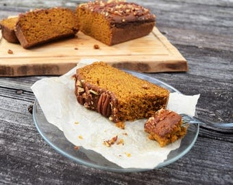 Pumpkin Bread With or Without Nuts - Vegan Dairy Free Egg Free