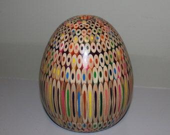 Coloured Pencil Vase