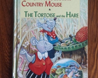The City Mouse and the Country Mouse - The Tortoise and the Hare - Vintage Classic Children's Books - Kids Books