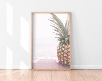Pineapple Wall Art, Pineapple Printable, Pineapple Poster, Pineapple Art Print, Printable Wall Art, Kitchen Printable, Best Selling Items
