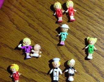 Polly Pocket Assorted Miniature Dolls
