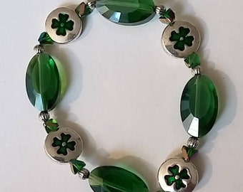 Lucky 4 Leaf Clover Bracelet