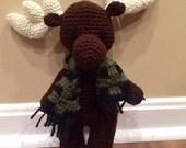 Martin the Moose Stuffed Animal/ Baby Toy