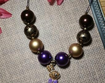 Easter Bunny Bubblegum Necklace