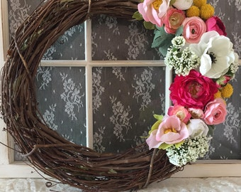Beautiful Spring Wreath