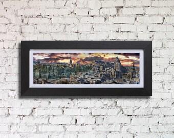Edinburgh Old Town Framed Print, by Stuart Readman