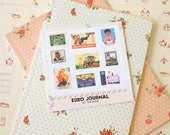 Euro Journal 7321 Lovely Ver 2 Cartoon Stamp stickers