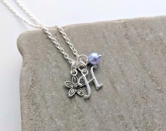 Flower Girl Gift, Flower Girl Necklace, Flower Girl Gift Sets, Flower Girl Jewellery, Flower Girl Jewelry, Wedding Jewellery, Flower Charms