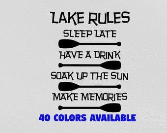 Cabin Decal Etsy - Vinyl stickers design your own