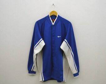 Nike Jacket Vintage Nike Track Jacket Nike Vintage Activewear Made in Japan Mens Size XL